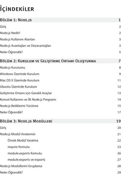 Node.Js - Özcan Kasal