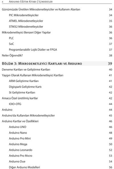 Arduino Eğitim Kitabı - Gökhan Dökmetaş