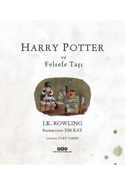 Harry Potter Ve Felsefe Taşı ( Resimli Özel Baskı ) - J. K. Rowling