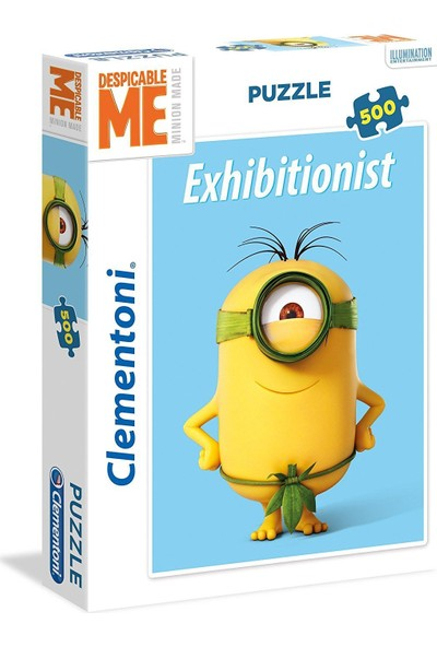 Clementoni 500 Parça Minions Puzzle Exhibitionist