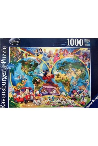 Ravensburger 1000P Puzzle Wd World Map-157853