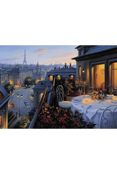 Ravensburger Pariste Bir Balkon (1000 Parça Puzzle)