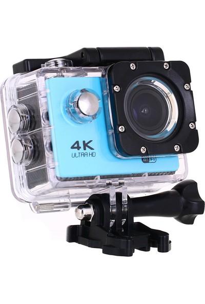 Sports HD 1080P Wi-fi Su Altı Aksiyon Kamera Kafa Bandı Hediyeli