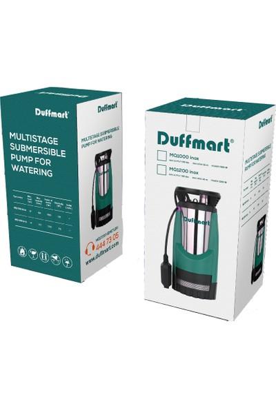 Duffmart Mq1000 Inox Kademeli Temiz Su Dalgıç Pompa