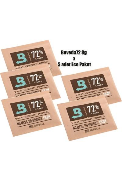 Bek Tobacco Boveda 72 8G Humidor Puro Kutusu Nemlendirici