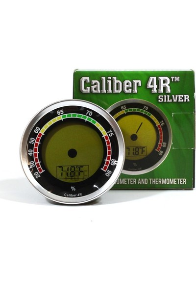 Hadson Caliber 4R America Dijital Higrometre Yuvarlak