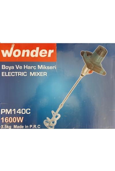 Wonder Pm140C Elektrikli Matkap Mikser Boya Ve Harç Karıştırıcı