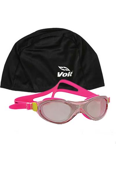 Voit Misile Yüzücü Gözlüğü Pembe Ve Voit Bone