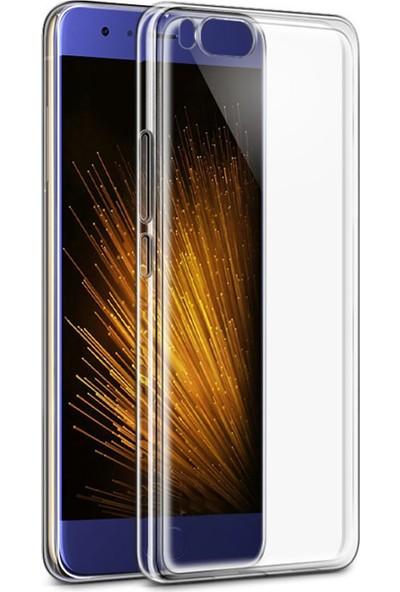 Microcase Xiaomi Mi6 Ultra İnce Soft Silikon Kılıf+Nano Glass Film