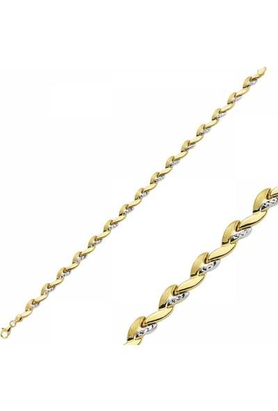 Sembolgold 14 Ayar Altın Bileklik Modeli 4.20 Gr Sg42-900276