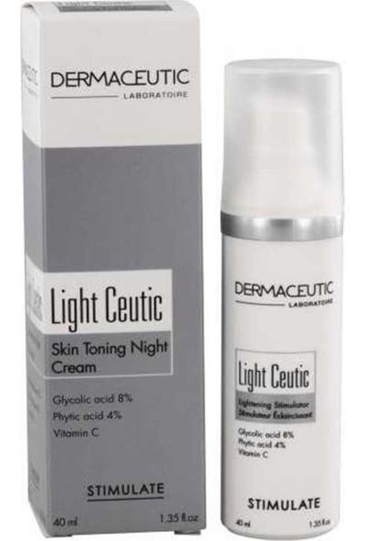 Dermaceutic Light Ceutic Renk Açıcı Gece Kremi 40 Ml