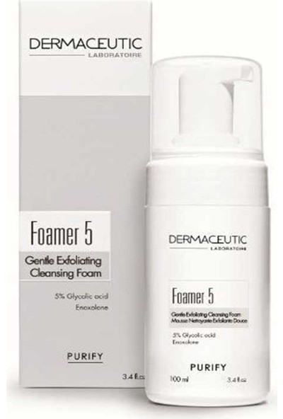 Dermaceutic Foamer 5 100Ml - Yüz Temizleme Köpüğü