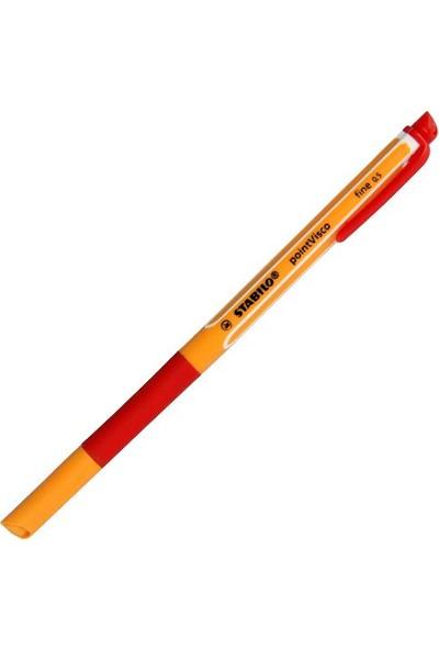Stabilo Point Visco Kırmızı Roller Kalem 1099/40