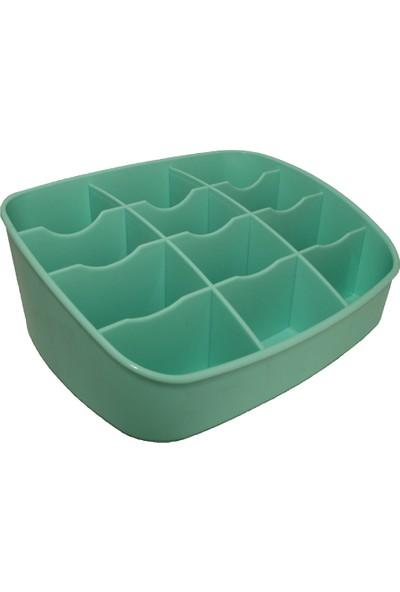 Qlüx L534 Su Yeşili Masaüstü Organizer
