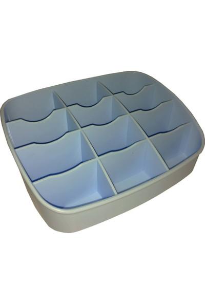 Qlüx L534 Mavi Masaüstü Organizer