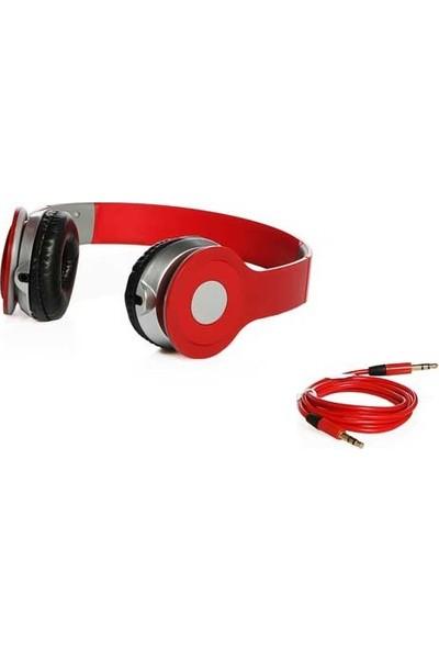 Biggsound Kırmızı Kulaklık - Model - Kulak Üstü Kulaklık