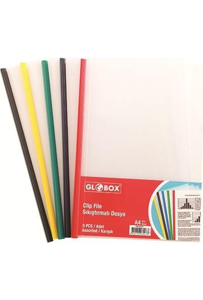 Globox Sıkıştırmalı Dosya 5'Li Paket (6427)