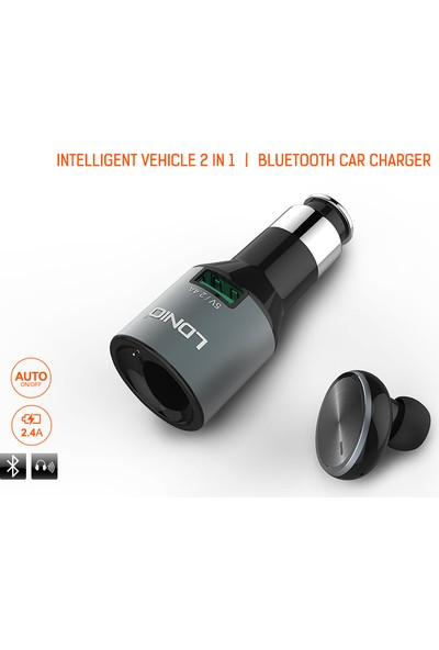 Ldnio Bluetooth kulaklık ve araç usb