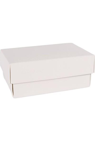 Buntbox Kapaklı Ofis Kutusu Dörtgen Beyaz (L)
