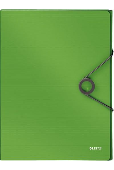 Leitz Solid Kalın Lastikli Dosya Yeşil L-4568