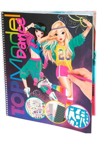 Top Model Dance Boyama Kitabı 8580
