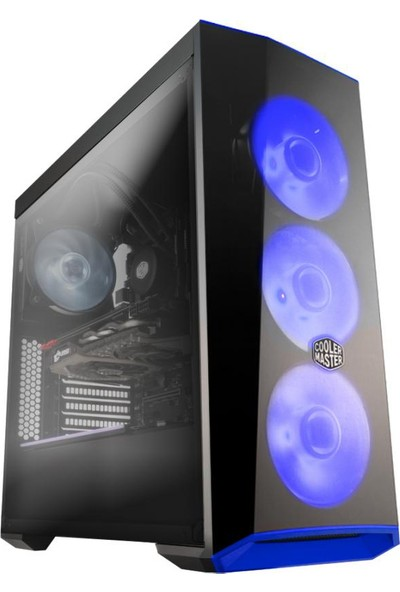 Cooler Master MasterBox Lite 5 80+ 500W USB 3.0 Pencereli MidTower Kasa MCW-L5S3-KWNA50