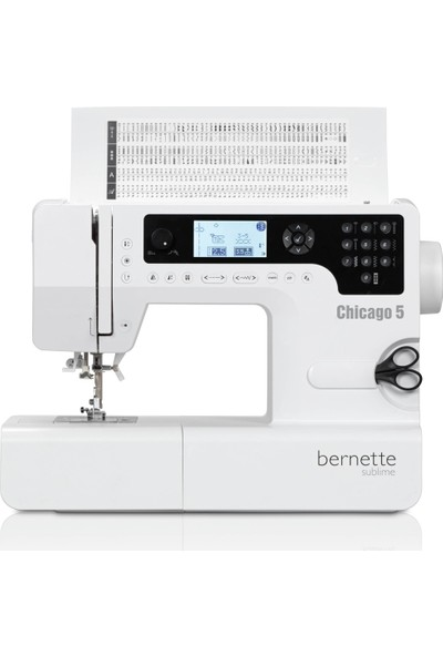 Bernette Chicago 5 Ev Tipi Dikiş Makinesi