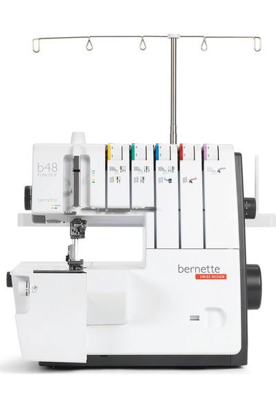Bernette B48 5 İplikli Ev Tipi Reçme Ve Overlok Makinesi