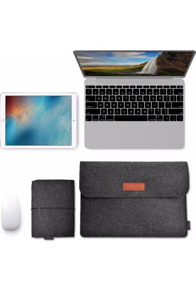 "Dodocool DA98-1 13,3"" Macbook Pro Macbook Air Ultrabook Taşıma Kılıfı"