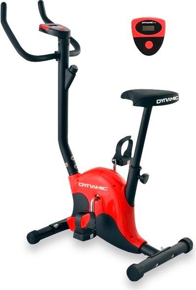 Dynamic S80 Dikey Kondisyon Bisikleti Kırmızı