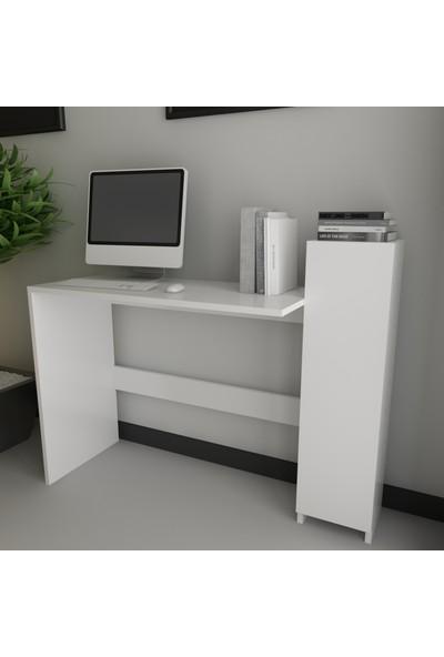 Evmodüler Clark Çalışma Masası Beyaz x620