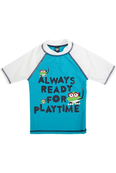 Arena Water Tribe Kids Boy Uv S/S Tee Çocuk T-Shirt