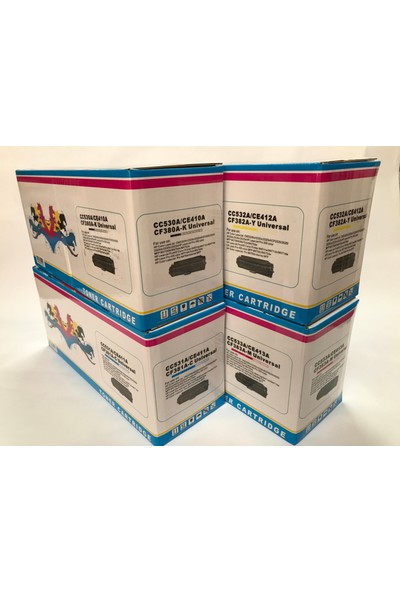 Imagetech® Hp Cm2320/Cm2320Fxi Toner Takım