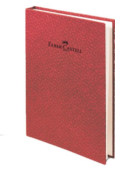 Faber-Castell Not Defteri Ciltli A5 Bambu K.Kırmızı 140/4