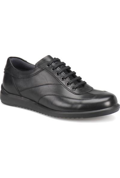 Flogart 512 M 1300 Siyah Erkek Deri Ayakkabı