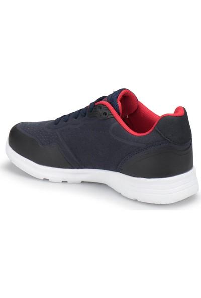Kinetix Buruma Lacivert Kırmızı Siyah Erkek Çocuk Ayakkabı