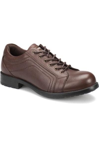 Kinetix Tyson Kahverengi Erkek Deri Ayakkabı