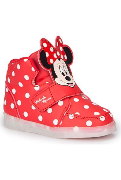 Mickey Mouse Spike Kırmızı Kız Çocuk Bot