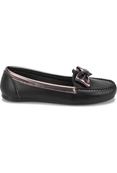 Miss F Dw17058 Siyah Kadın Loafer