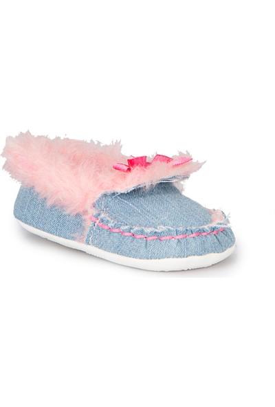 Pink Step Lisy-4 Mavi Kız Çocuk Panduf