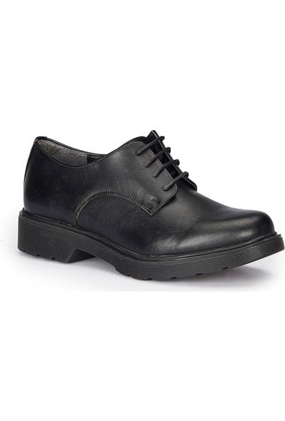 Polaris 72.309142.Z Siyah Kadın Ayakkabı