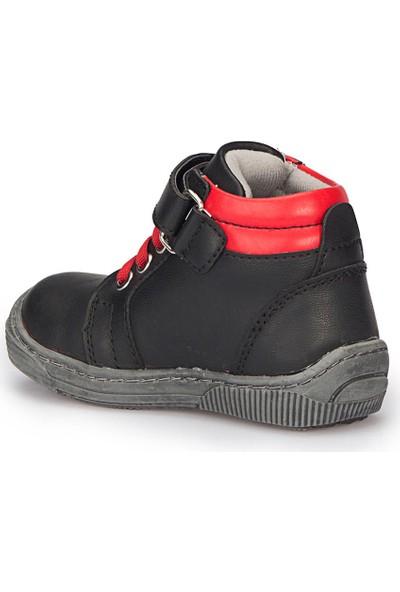 Polaris 72.508428.B Siyah Erkek Çocuk Ayakkabı