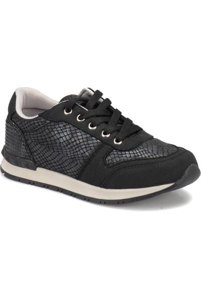 Seventeen Peli Siyah Kız Çocuk Ayakkabı