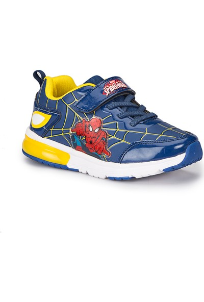 Spiderman Ekan Lacivert Erkek Çocuk Ayakkabı