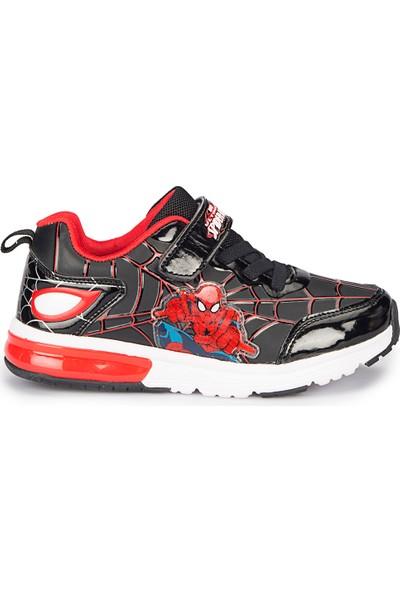 Spiderman Ekan Siyah Erkek Çocuk Ayakkabı