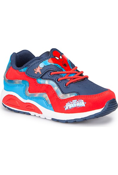 Spiderman Elaf Lacivert Erkek Çocuk Ayakkabı