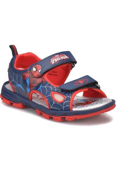Spiderman Kony Lacivert Erkek Çocuk Sandalet