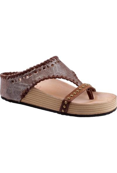 As 98 Kadın 994002 101 6225 Sandali Donna Pelle Suola Sintetica Air Step Sandalet