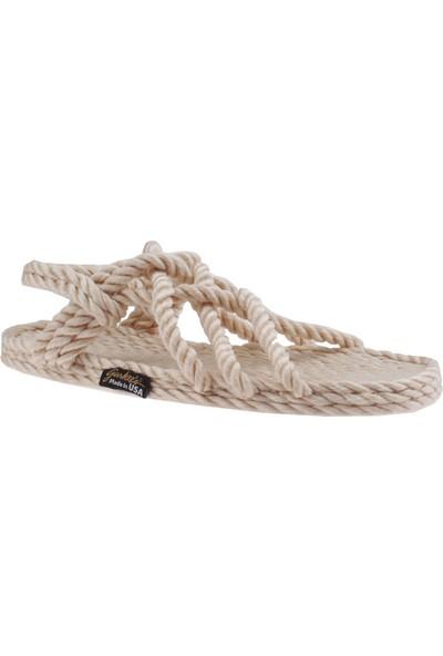 Gurkee'S Kadın Classic Neptune Rope Sandals Sandalet