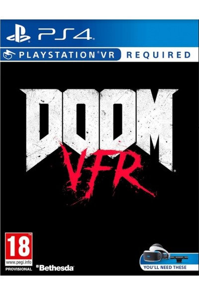 DOOM VFR VR PS4 Oyun